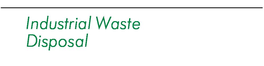 廃棄物収集運搬処分